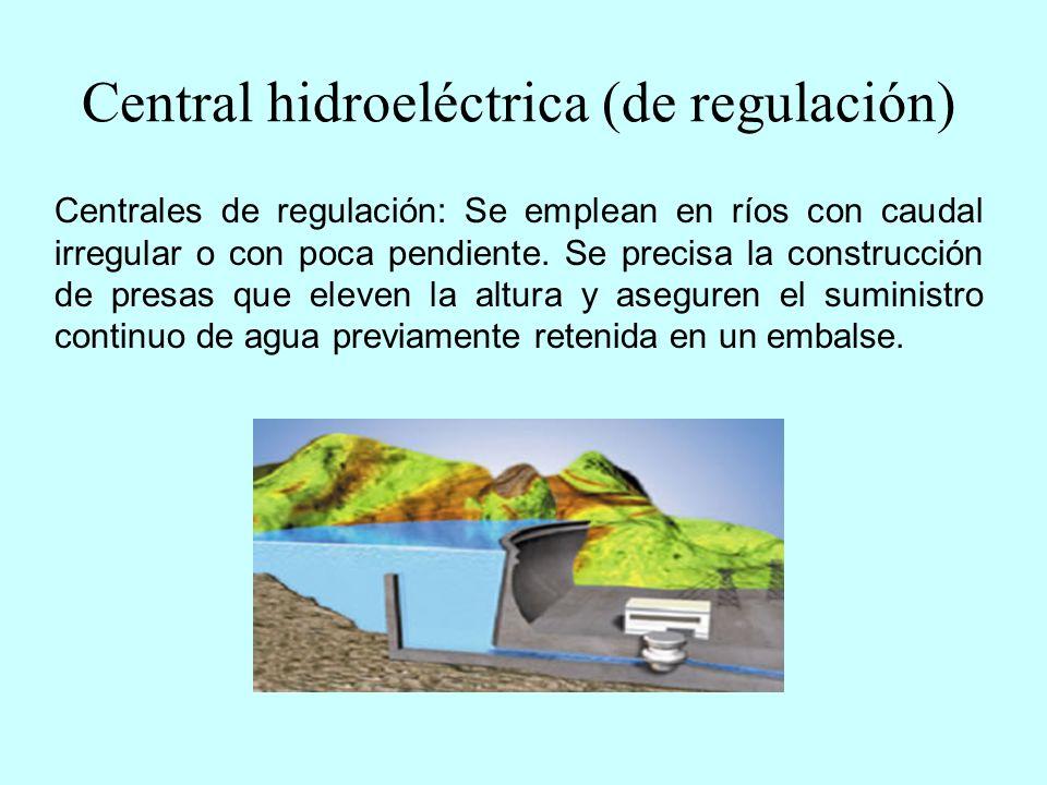 Central hidroeléctrica (de regulación)