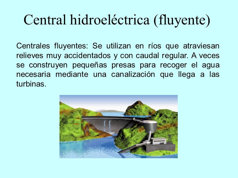 Central hidroeléctrica (fluyente)