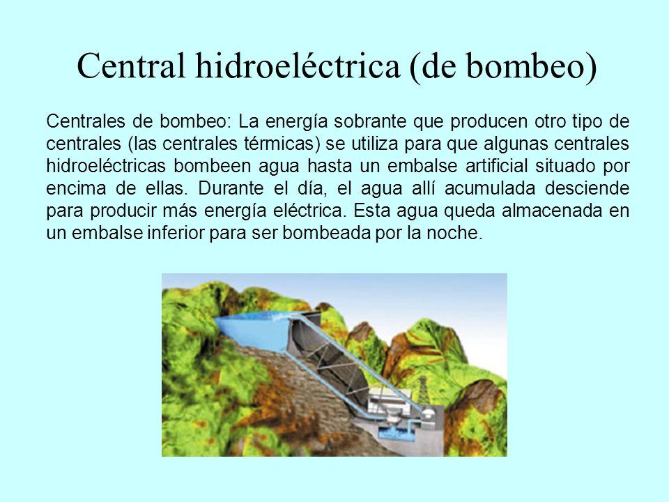 Central hidroeléctrica (de bombeo)
