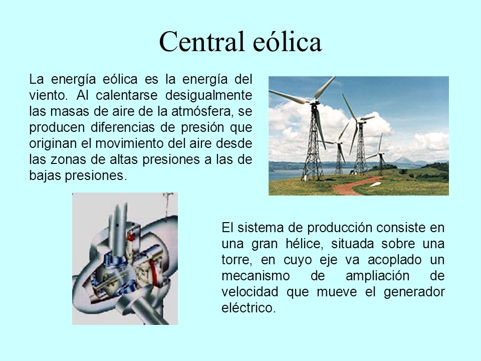 Central eólica