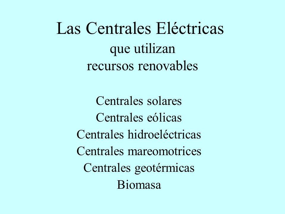 que utilizan recursos renovables