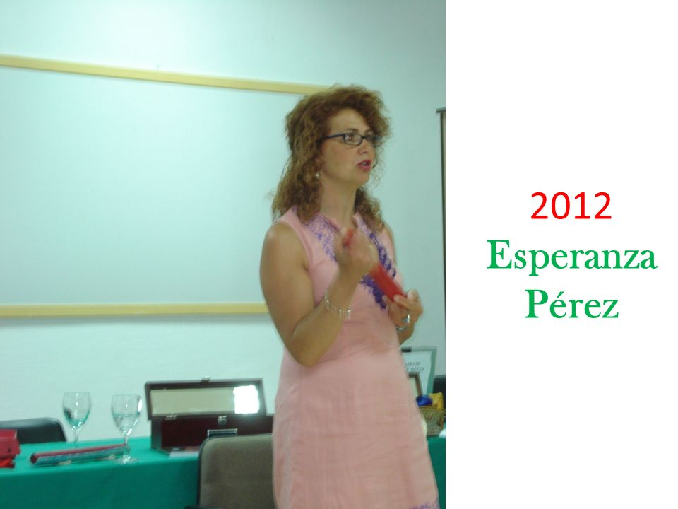 2012 Esperanza Pérez