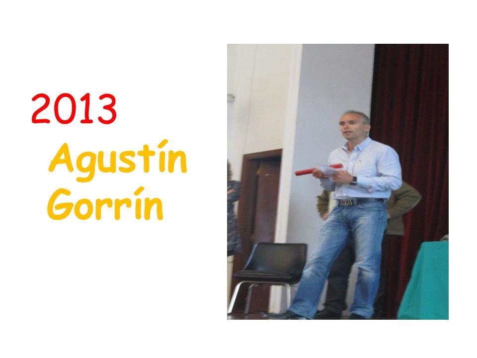 2013 Agustín Gorrín
