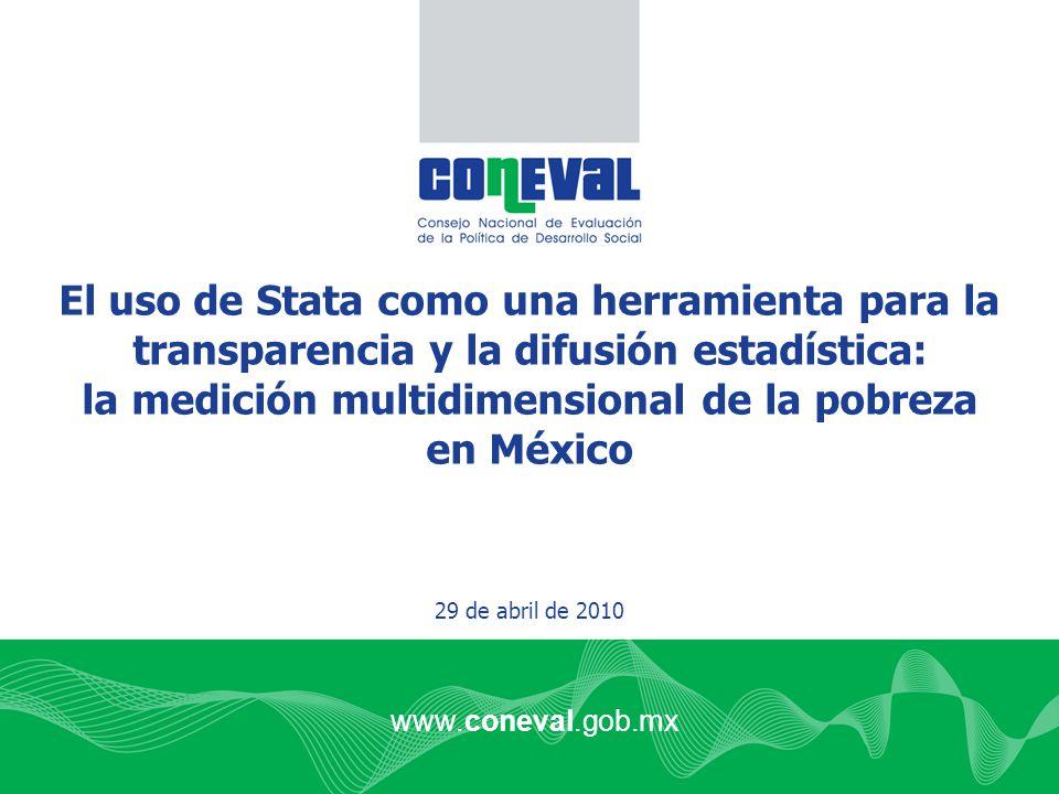la medición multidimensional de la pobreza en México