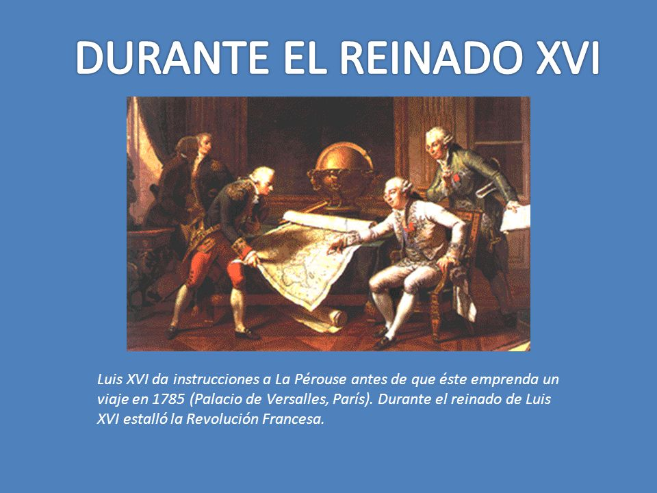 DURANTE EL REINADO XVI