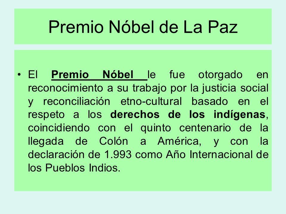 Premio Nóbel de La Paz