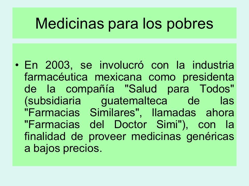 Medicinas para los pobres