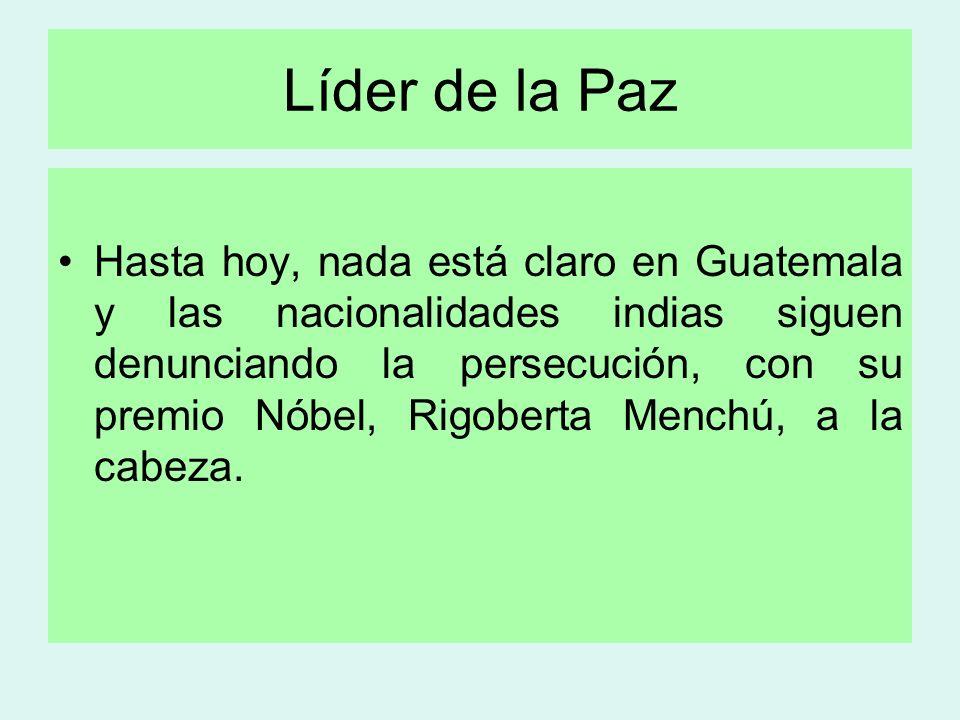 Líder de la Paz
