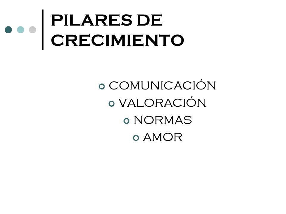 PILARES DE CRECIMIENTO