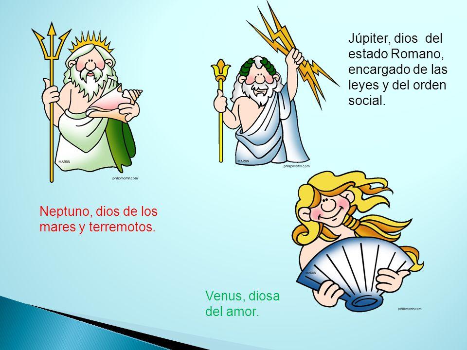 Júpiter, dios del estado Romano, encargado de las leyes y del orden social.