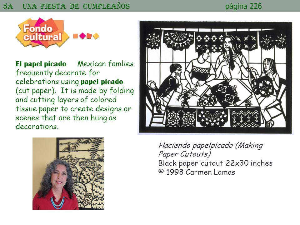 5A Una Fiesta de cumpleaños página 226