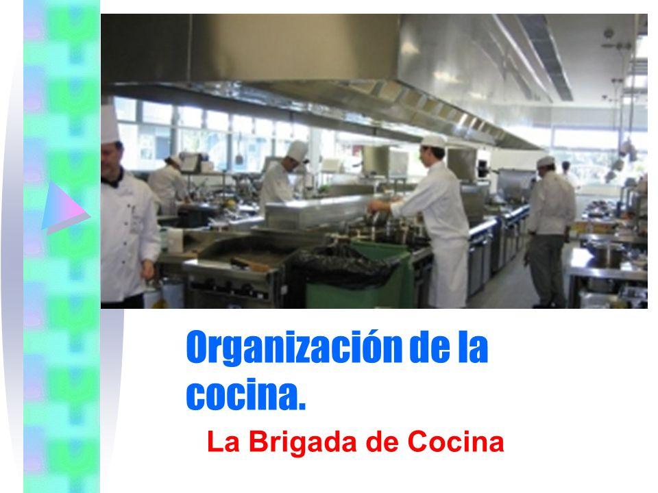 Organización de la cocina.