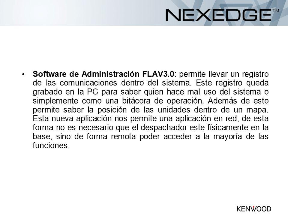 Software de Administración FLAV3