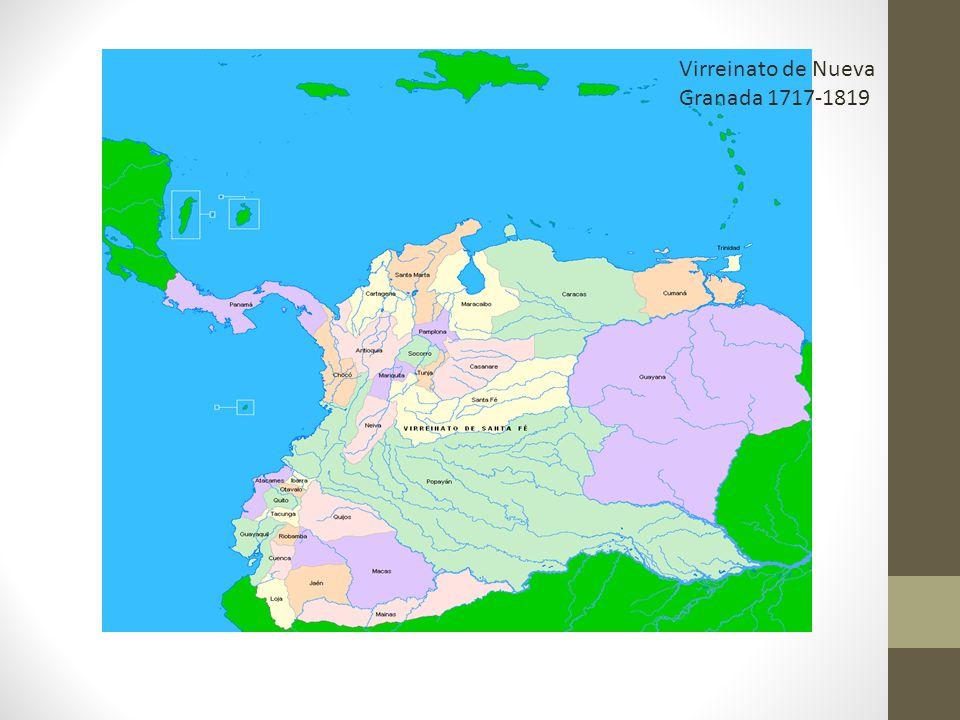 Virreinato de Nueva Granada 1717-1819