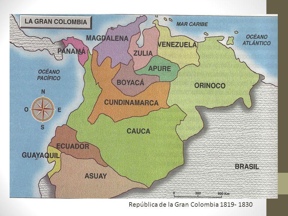 República de la Gran Colombia 1819- 1830