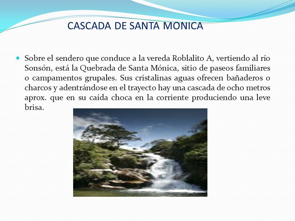 CASCADA DE SANTA MONICA