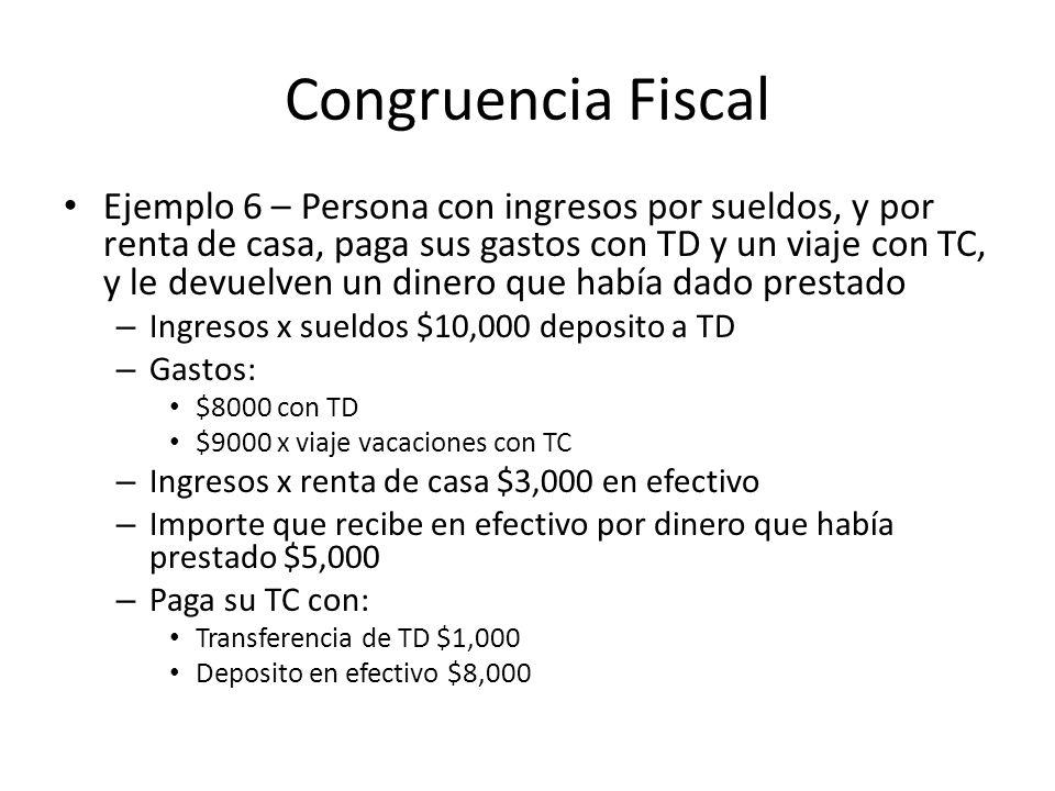 Congruencia Fiscal