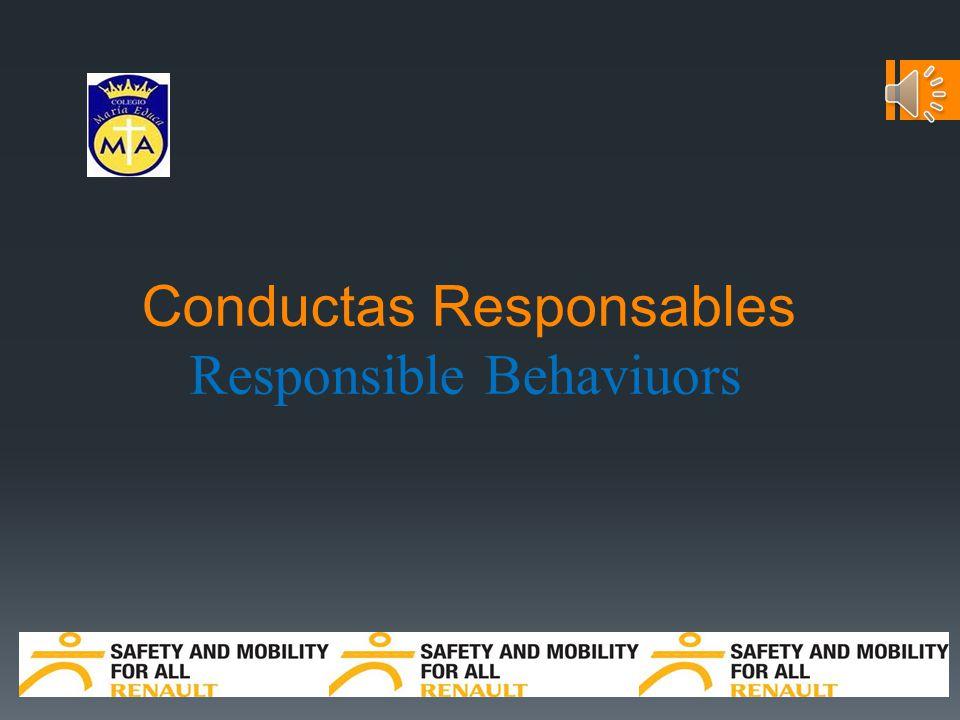 Conductas Responsables Responsible Behaviuors