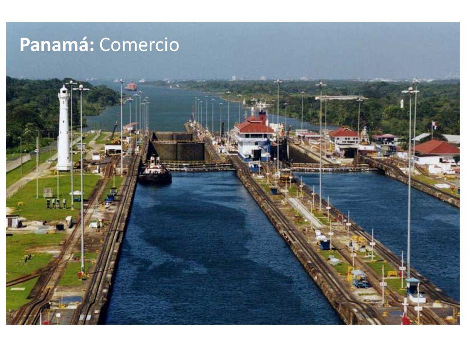 Panamá: Comercio