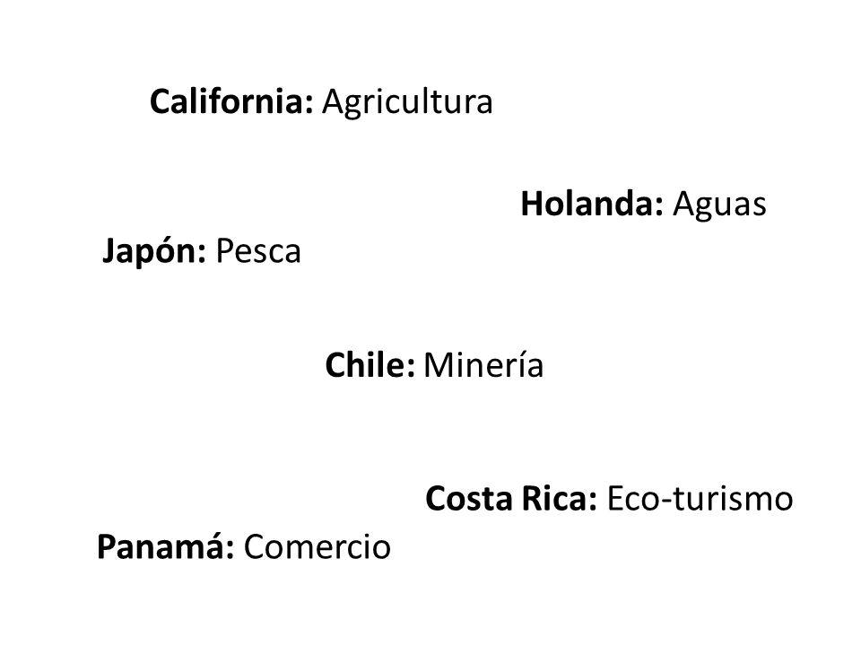 California: Agricultura