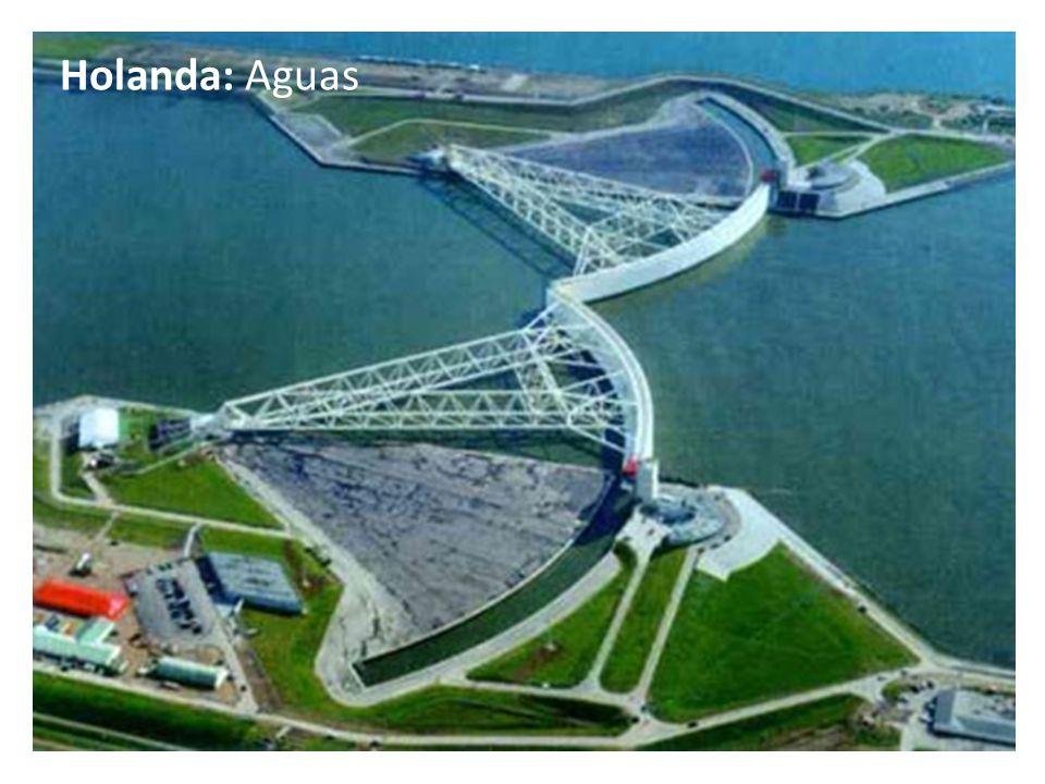 Holanda: Aguas