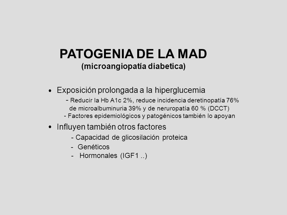 (microangiopatía diabetica)