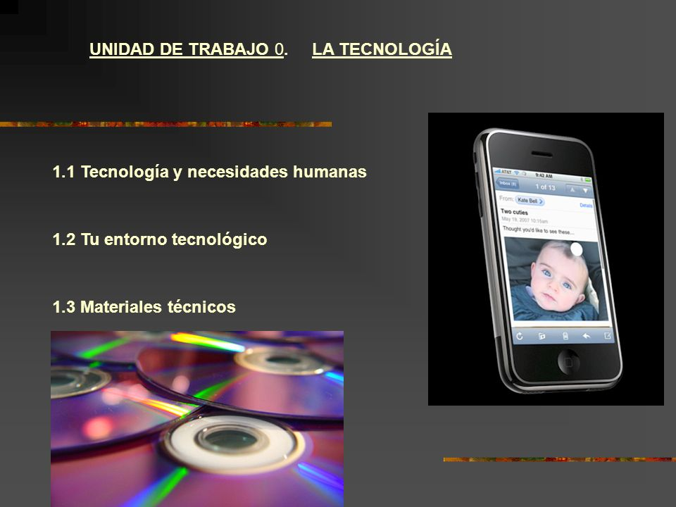 UNIDAD DE TRABAJO 0. LA TECNOLOGÍA