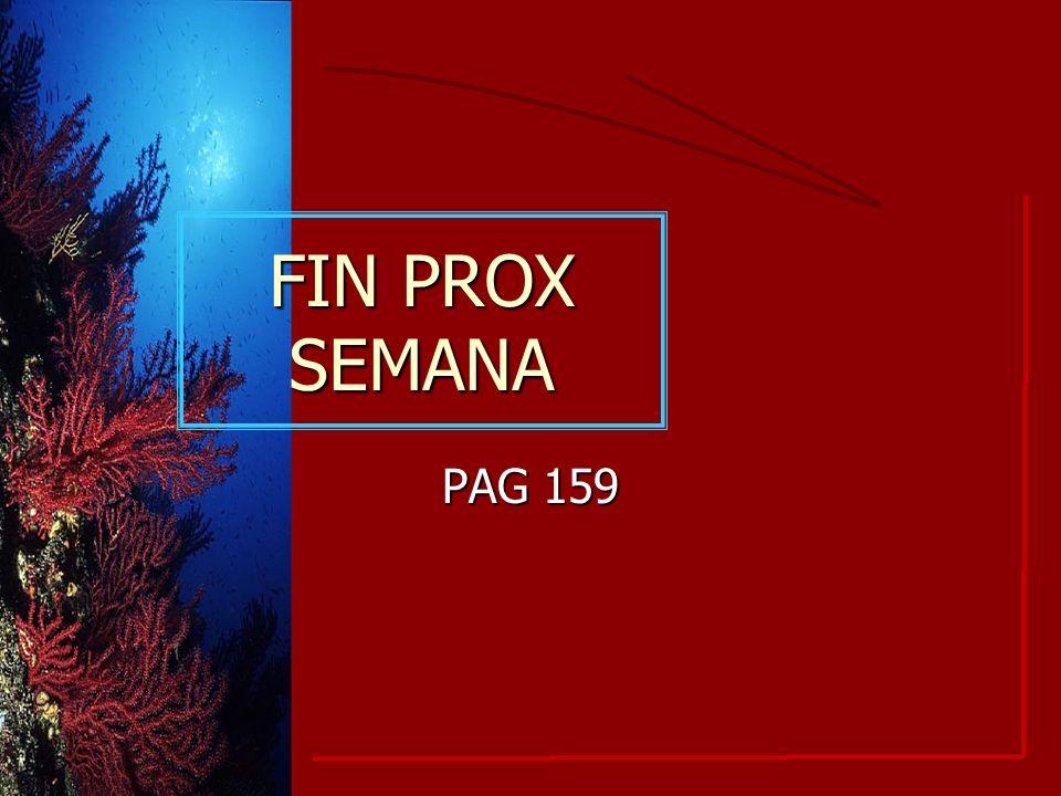 FIN PROX SEMANA PAG 159