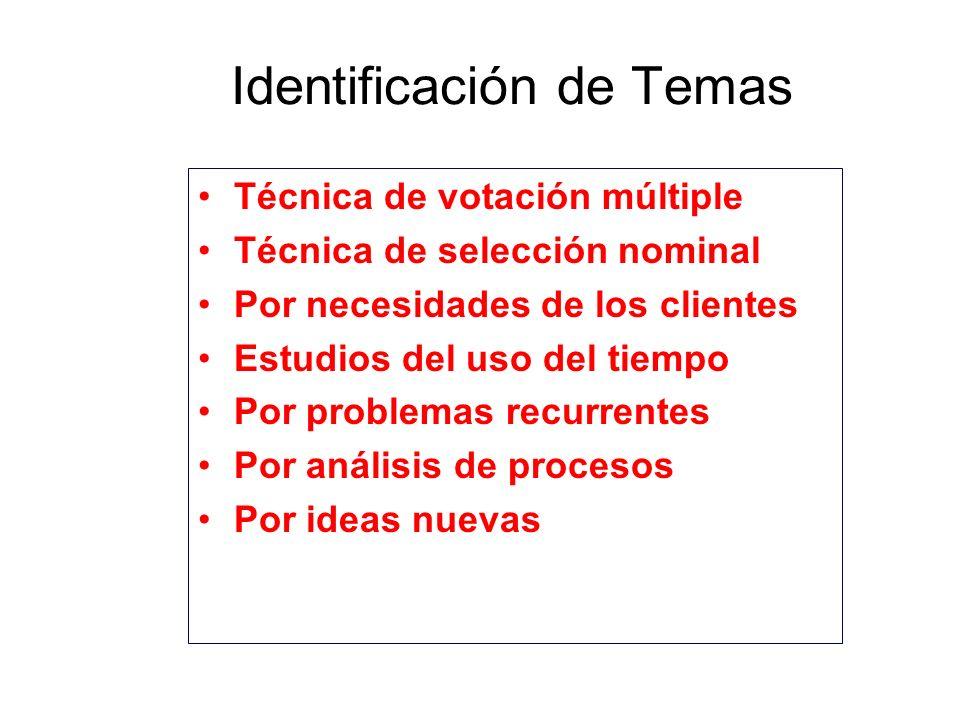 Identificación de Temas