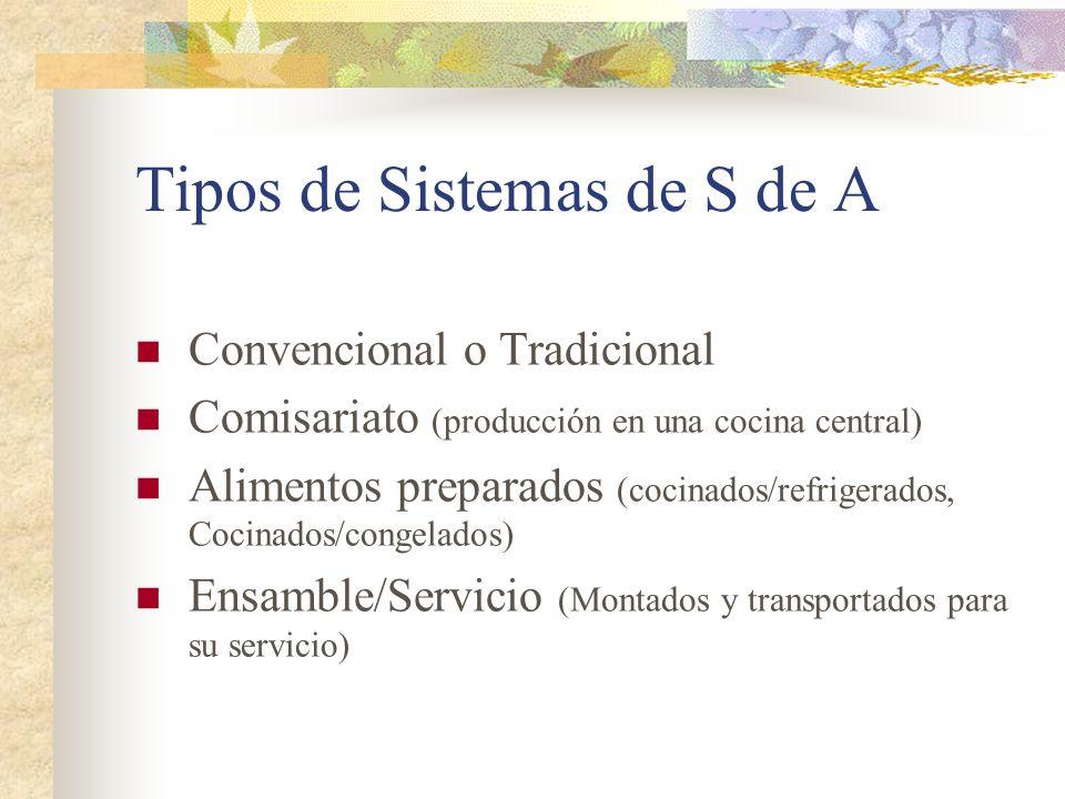 Tipos de Sistemas de S de A