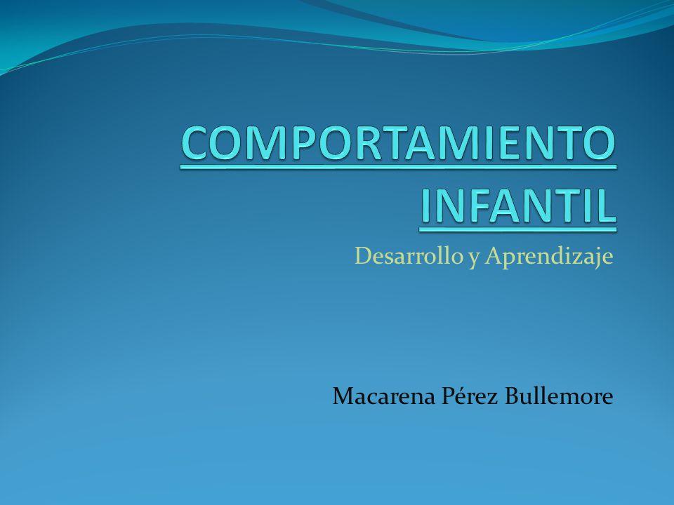COMPORTAMIENTO INFANTIL