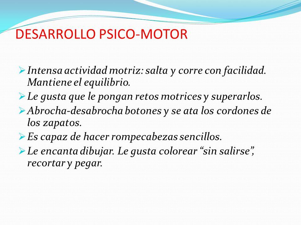 DESARROLLO PSICO-MOTOR