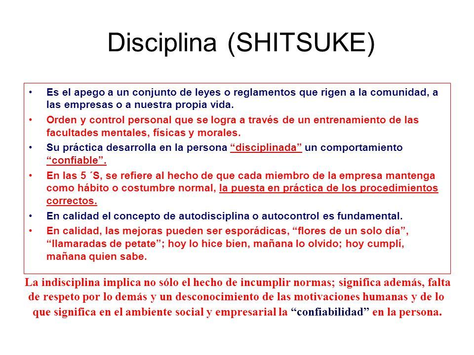 Disciplina (SHITSUKE)