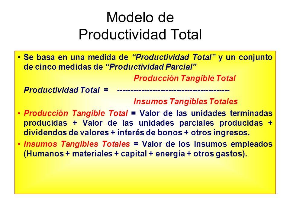 Modelo de Productividad Total