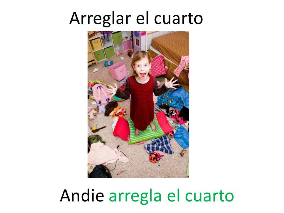 Arreglar el cuarto Andie arregla el cuarto