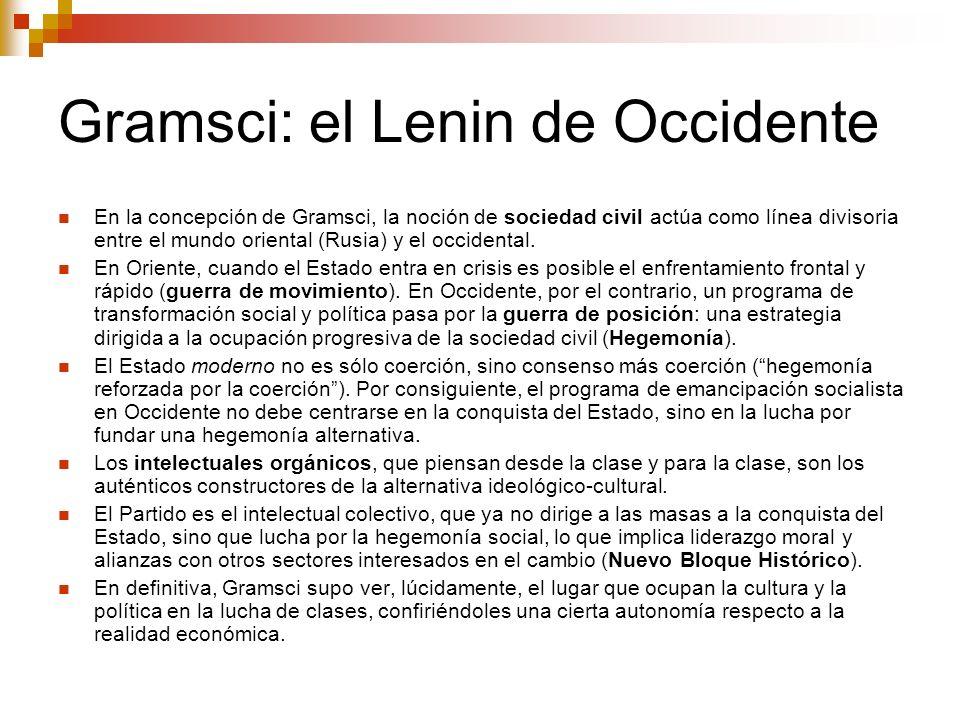 Gramsci: el Lenin de Occidente