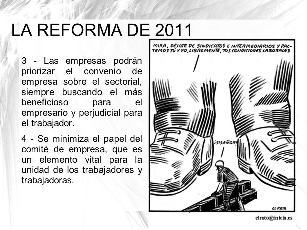 LA REFORMA DE 2011