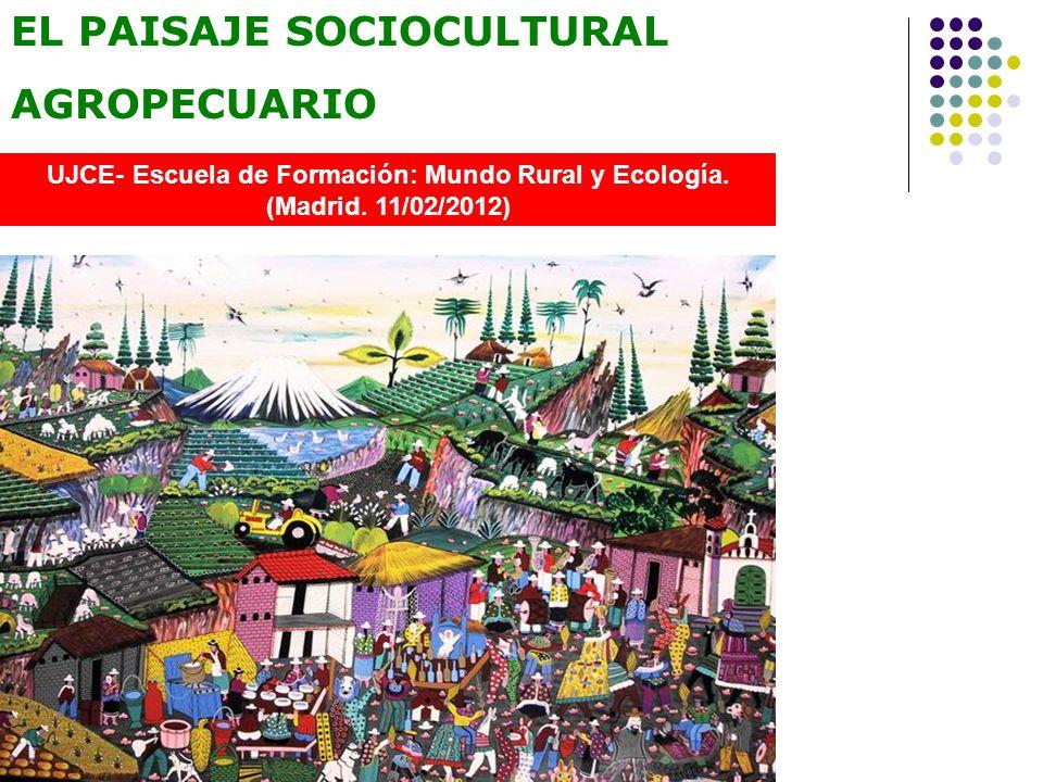 UJCE- Escuela de Formación: Mundo Rural y Ecología.
