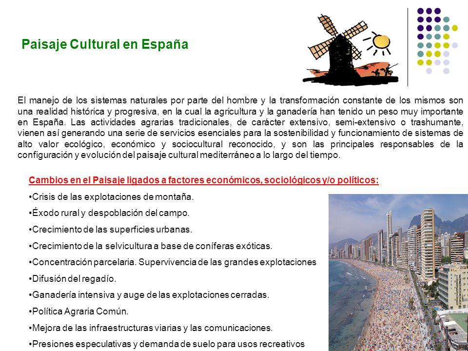 Paisaje Cultural en España
