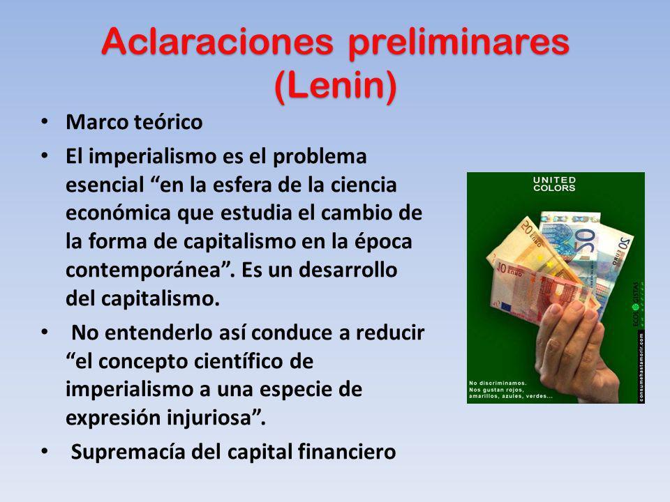 Aclaraciones preliminares (Lenin)