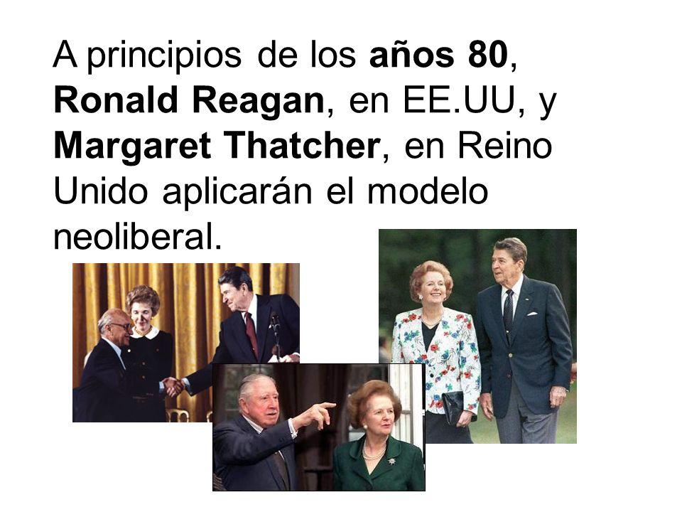 A principios de los años 80, Ronald Reagan, en EE