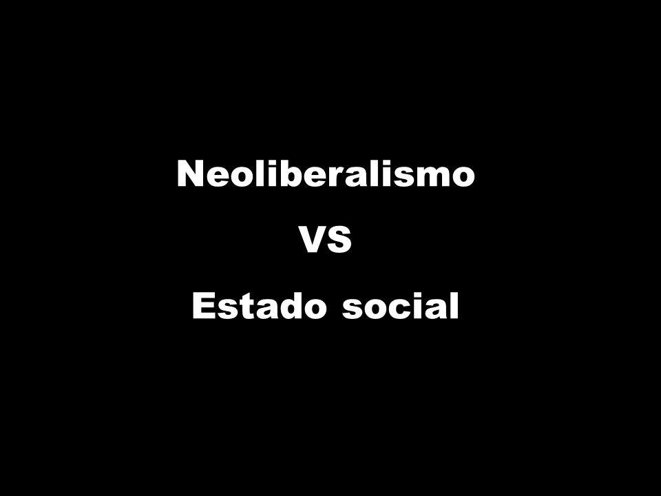Neoliberalismo VS Estado social