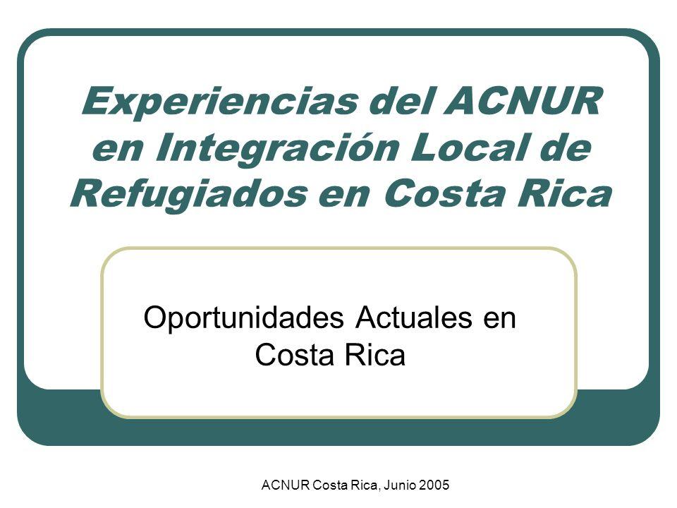 Oportunidades Actuales en Costa Rica