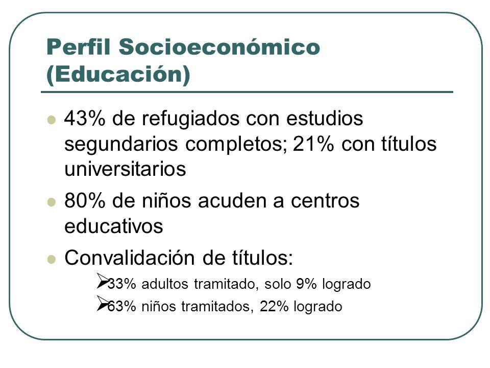 Perfil Socioeconómico (Educación)