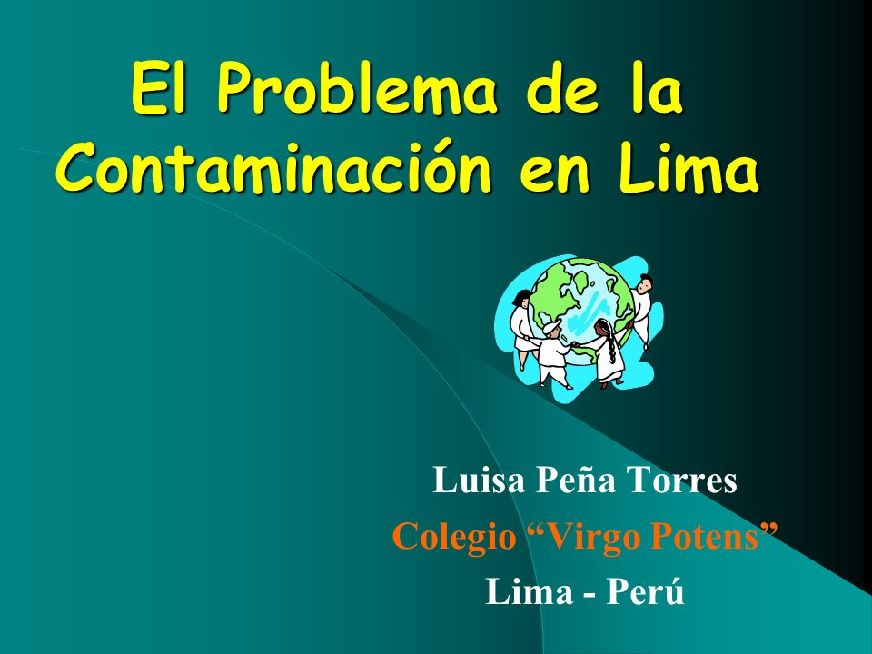 El Problema de la Contaminación en Lima