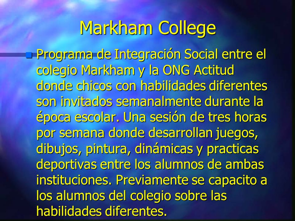 Markham College