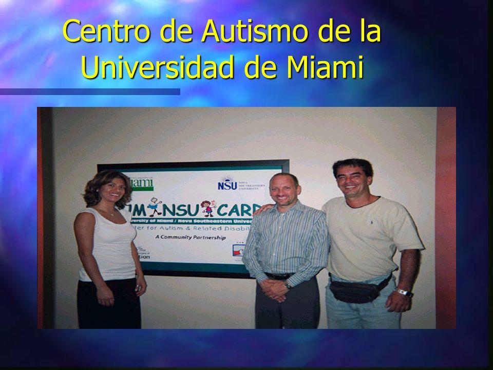 Centro de Autismo de la Universidad de Miami