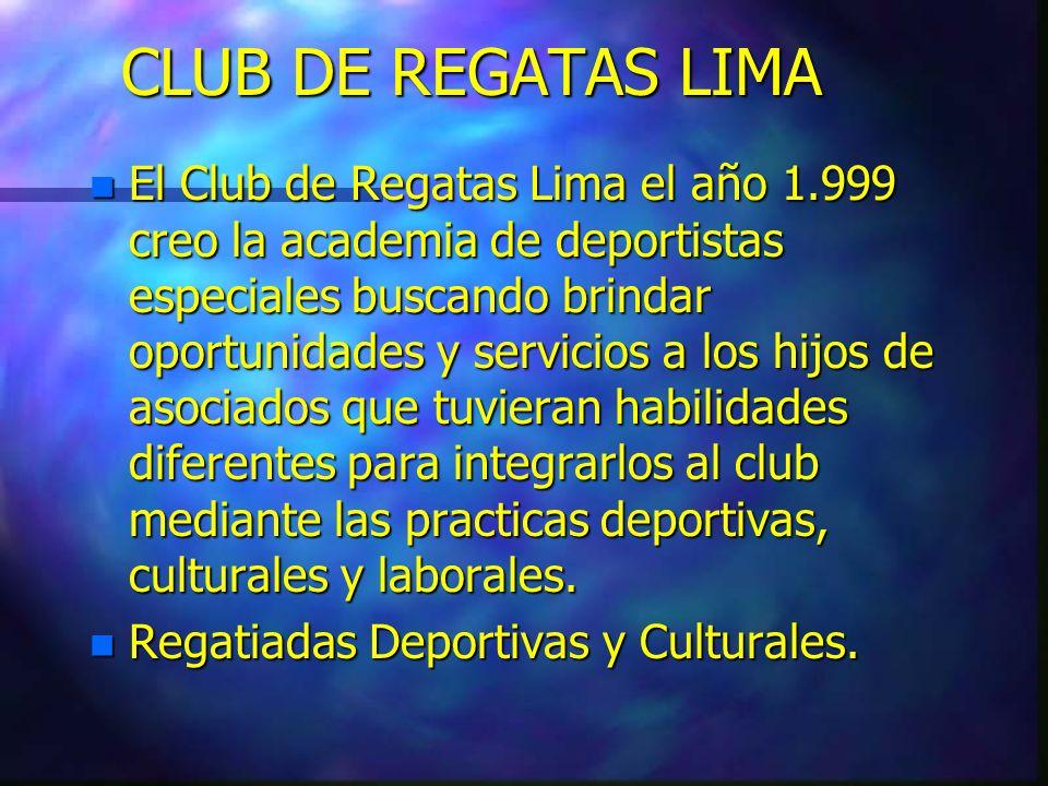 CLUB DE REGATAS LIMA