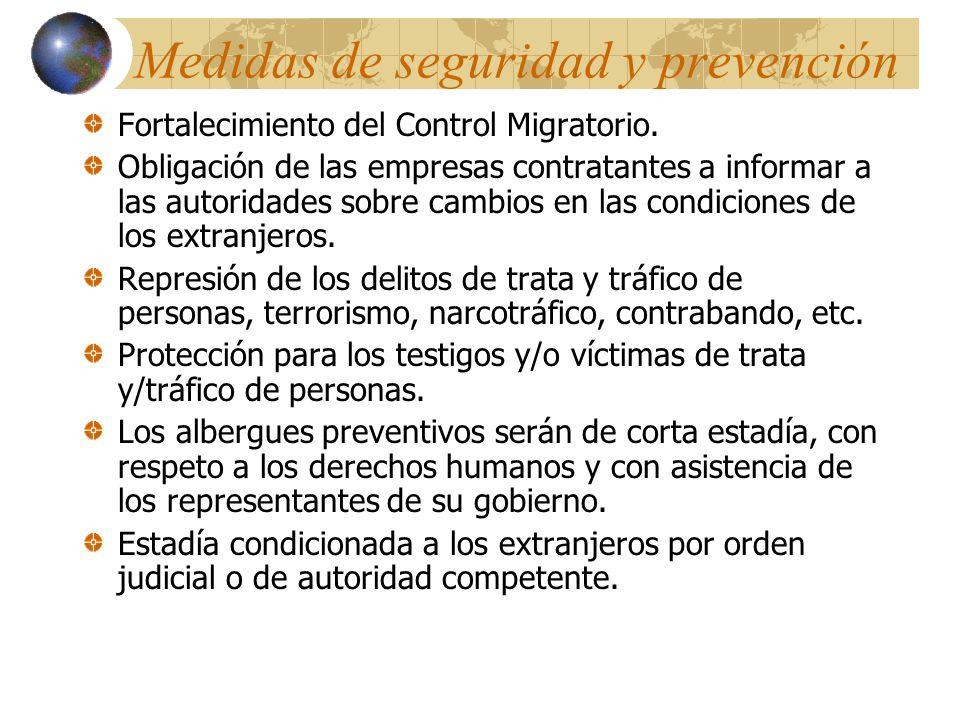 Medidas de seguridad y prevención