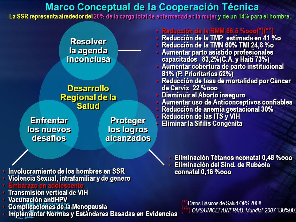 Marco Conceptual de la Cooperación Técnica